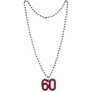 "Age ""60"" Necklace"