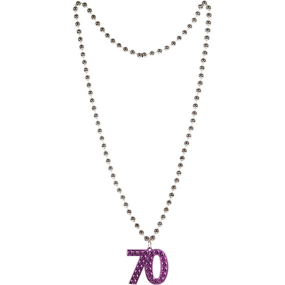 "Age ""70"" Necklace"