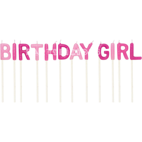 BIRTHDAY GIRL PICK CANDLE