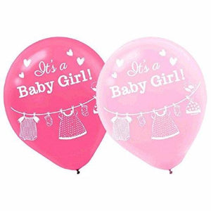 Baby Shower With Love Boy Latex Balloons