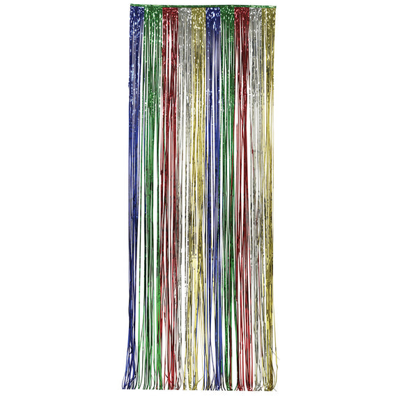 Multi Color Door Fringe Curtain