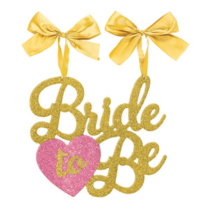 Bride to be chair sign mdf