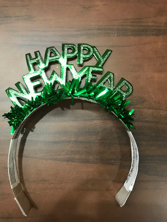 New year Tiara ( Green)