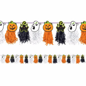 Halloween Tissue Paper Garland