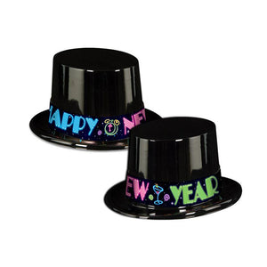 New Year Topper Neon Hat