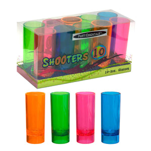 2 Oz Shooter Glasses Box Set - Pack Of 10