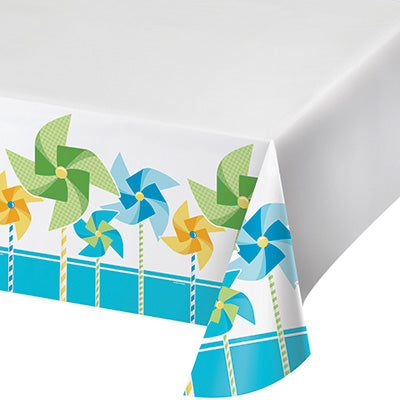Turning One Boy Table Cover