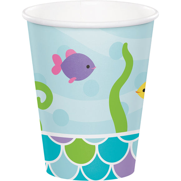 Mermaid Friends 9oz Cups