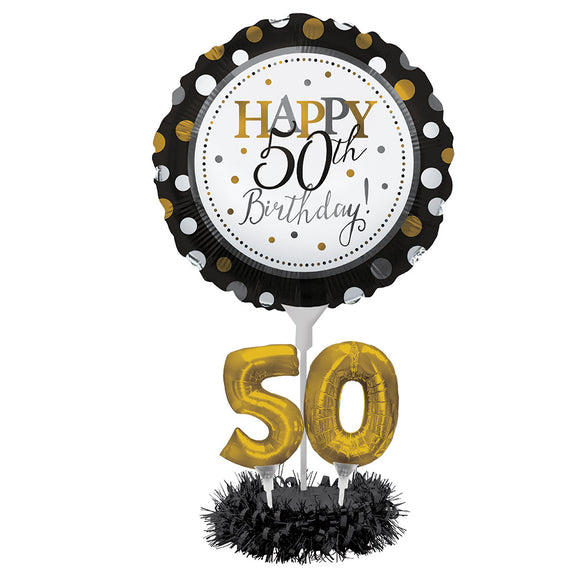 50th Birthday Balloon kit