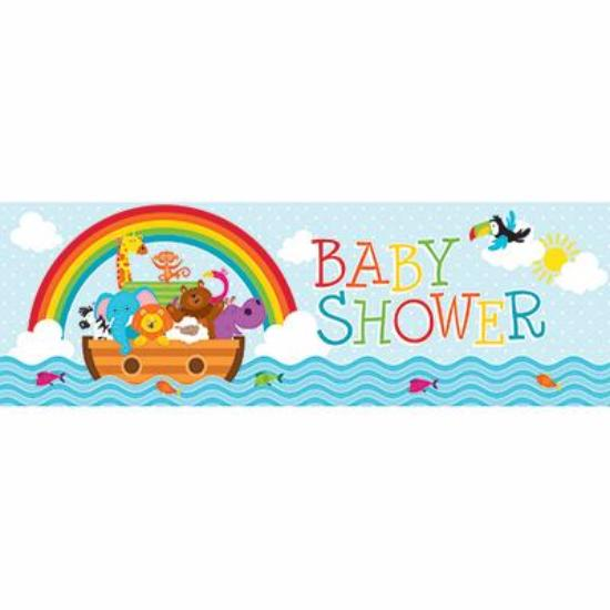 Noah Ark Giant Baby Shower Banner