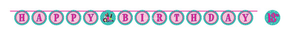 SPARKLE SPA RIBBON BANNER