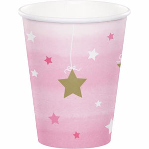 ONE LITTLE STAR GIRL 9OZ CUPS