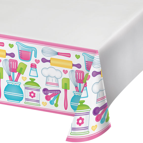 LITTLE CHEF PLASTIC TABLECOVER