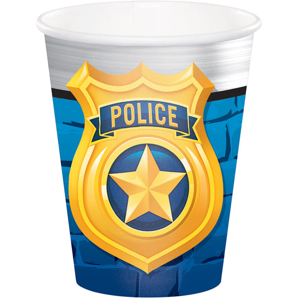 Police party 9oz Cups