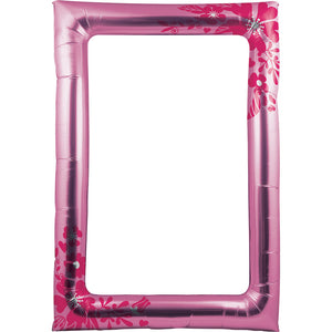 BALLOON PHOTO FRAME, FLOWERS