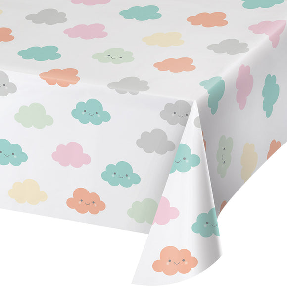 Sunshine Baby Shower Plastic Table cover