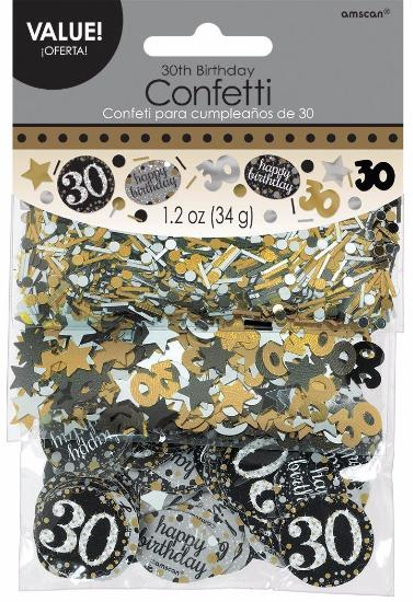 Sparkling Celebration 30 Confetti