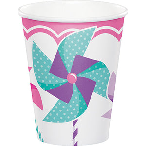 Turning One Girl 9 oz Hot /Cold Cups