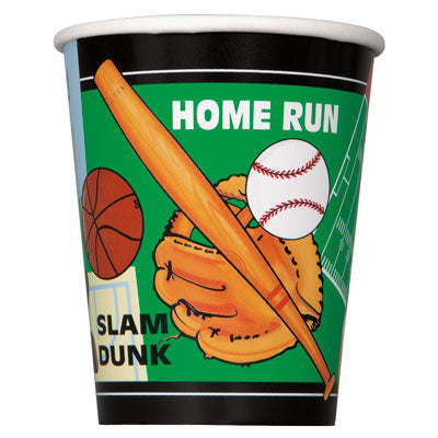 Classic Sports 9oz hot/cold Cups
