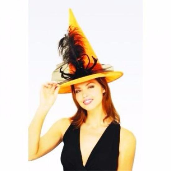 Spider Witch Hat -Orange