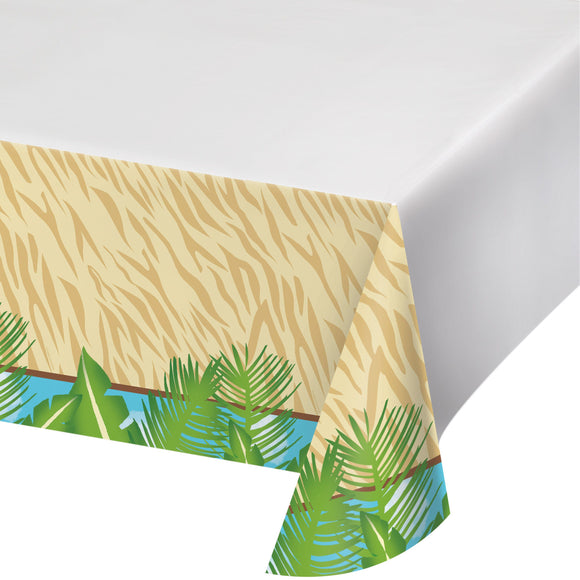 Safari Adventure plastic tablecover