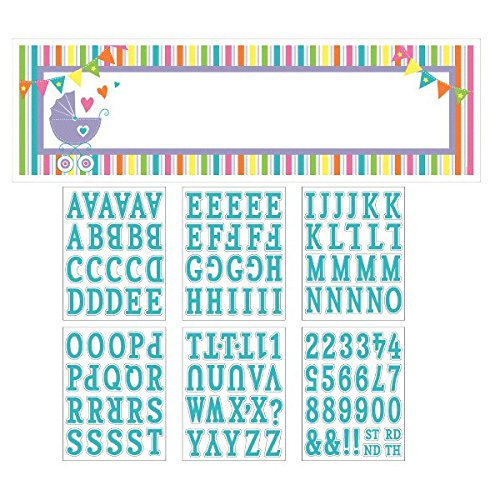 New Baby Personalize It Gaint Sign Banner