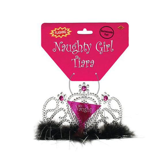 Plastic Light-Up Naughty Girl Tiara