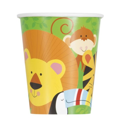 Jungle Animal paper cups