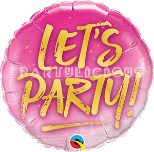 "18"" Let's Party!"