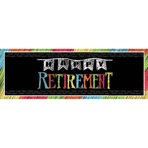 Retirement Giant Banner