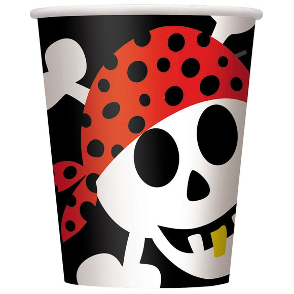 Pirate Fun 9oz hot/cold Party Cups