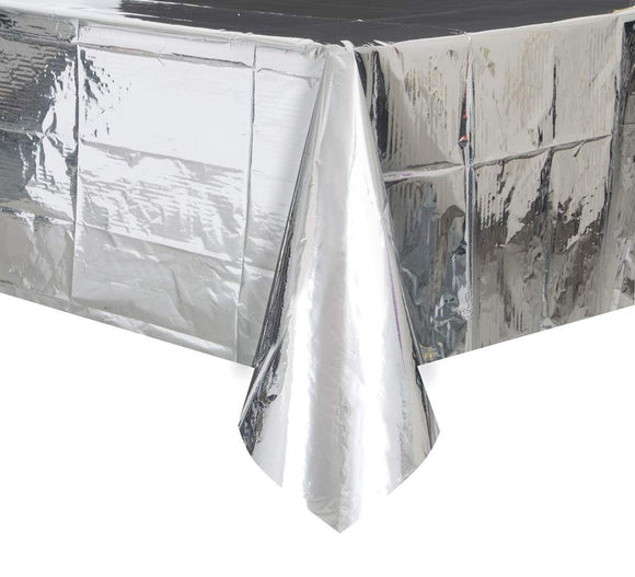 Silver Foil Table cover