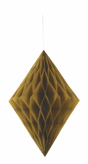 Gold Diamond Tissue Decoration