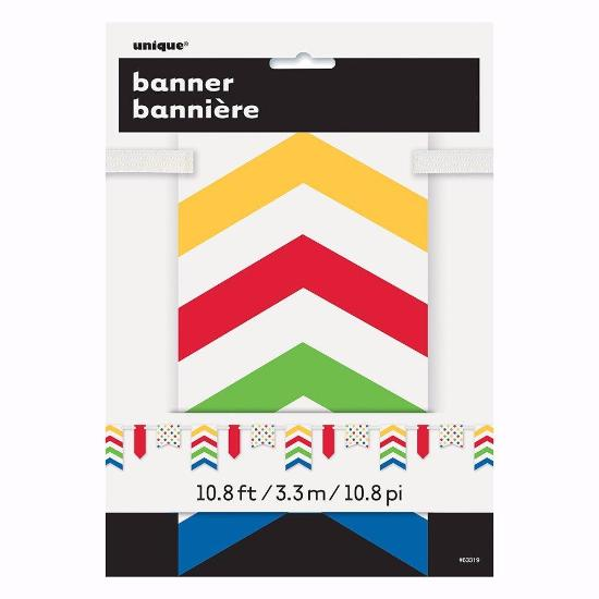 Bold Dots Paper Pennant Banner