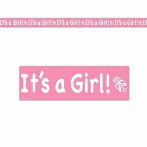 It's A Girl! Party Tape