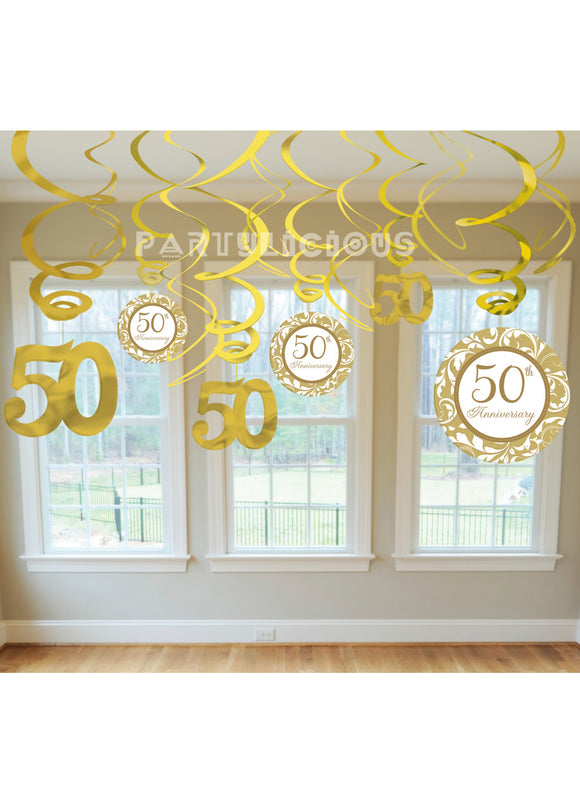 50th Anniversary Gold Value Pack Swirl