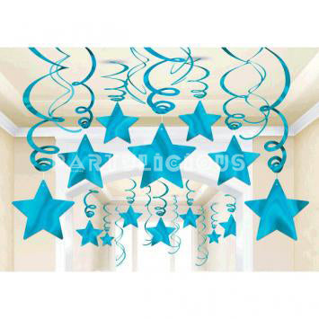 Shooting Star Mega Value Swirl - Blue