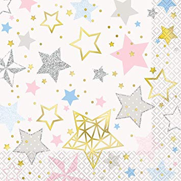 Twinkle Twinkle Little Star Luncheon Napkins