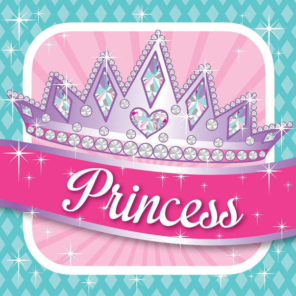 Princess Party Luncheon Napkin