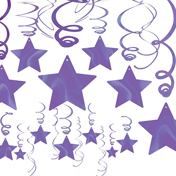 Shooting Star Mvp Swirls - Purple