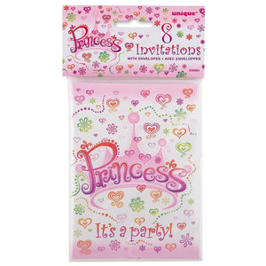 Princess Diva Invites