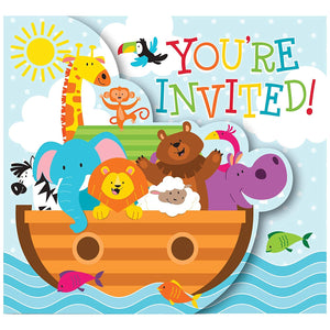 Noak Ark Invitation