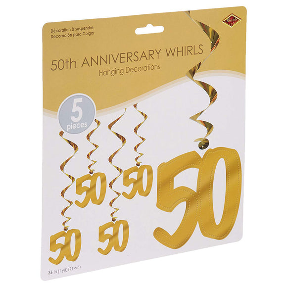 50th Anniversary Whirls