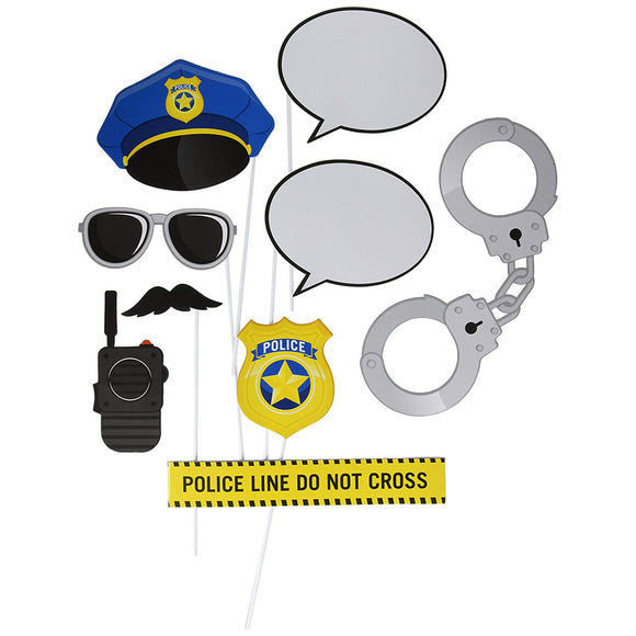 Police party Photo Prop 10/Pk