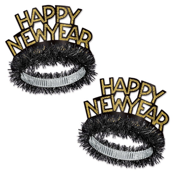 New year Tiara ( Black)