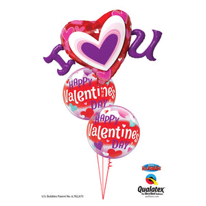 I love You Valentine Balloon