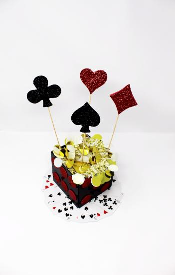 Casino Table Centrepieces