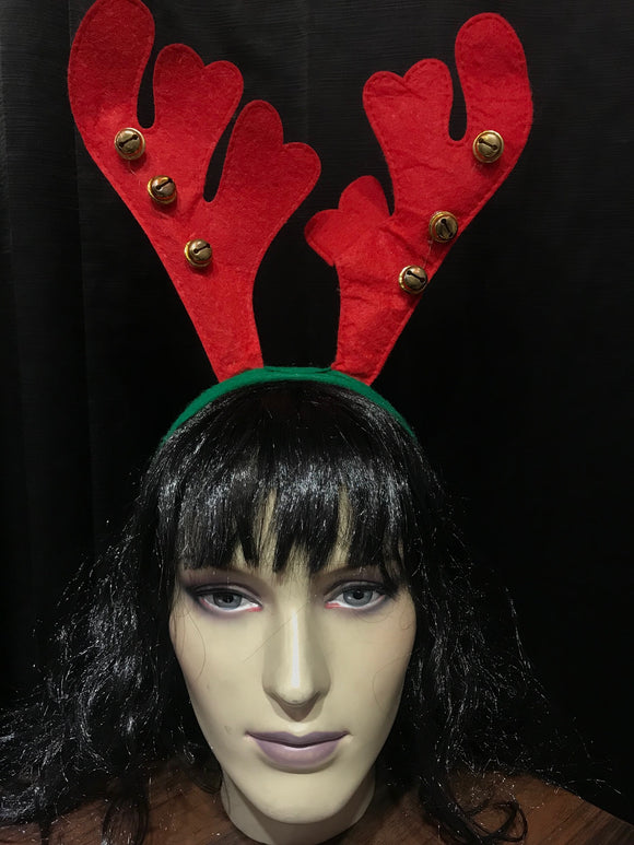 Reindeer Red HeadBand