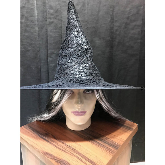 Witch hat black with net