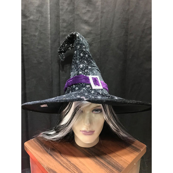 Halloween  Black witch hat